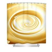 Moveonart Goingforgold Shower Curtain