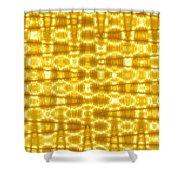 Moveonart Goldenblanket Shower Curtain