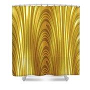Moveonart Goldlight Shower Curtain