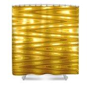 Moveonart Goldlightdream Shower Curtain