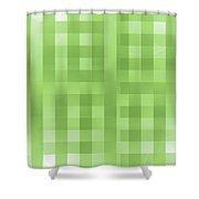 Moveonart Greengroove Shower Curtain