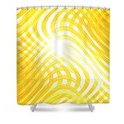Moveonart Higherlightandwaves Shower Curtain