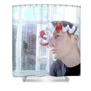 Moveonart Jacoblooking Shower Curtain
