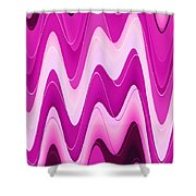Moveonart Moodwaves Shower Curtain