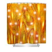 Moveonart Praiseandworship Shower Curtain