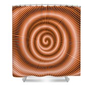 Moveonart Spiraldream Shower Curtain