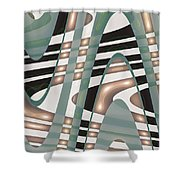 Moveonart Sufficient Shower Curtain