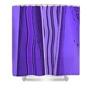 Moveonart Truvioletblu Shower Curtain