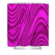 Moveonart Wavesforchange Shower Curtain