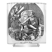 Moving Day, 1870 Shower Curtain