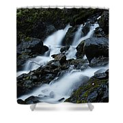 Moving Fast Shower Curtain