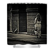 Moving On... Shower Curtain