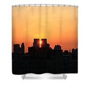 Moving Right Shower Curtain