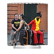 Moving Star Shower Curtain