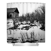 Mr East Shower Curtain