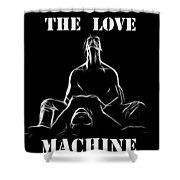 Mr Lover Lover Shower Curtain