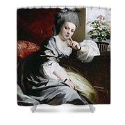 Mrs Clark Gayton Shower Curtain by John Singleton Copley
