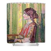 Mrs Robert Bevan Shower Curtain