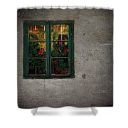 Mrs Roses Wall Shower Curtain