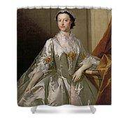 Mrs Wardle Shower Curtain