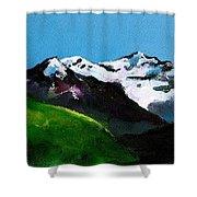 Mt Aspiring Shower Curtain