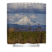 Mt Mclaughlin Springtime Shower Curtain