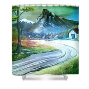 Mt. Of Hope Shower Curtain