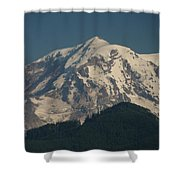 Mt Rainier Shower Curtain