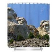 Mt Rushmore Shower Curtain