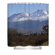 Mt Shasta Autumn II Shower Curtain