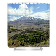 Mt St Helens 3 Shower Curtain