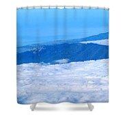 Mt Tamalpais From The Air Shower Curtain