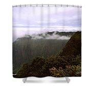 Mt Waialeale Shower Curtain
