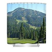 Mt. Washington Shower Curtain