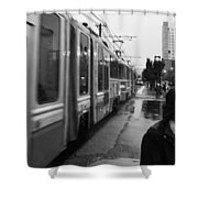 Mtba Commuter Shower Curtain