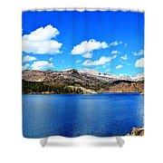 Mtn Lake Bliss Shower Curtain