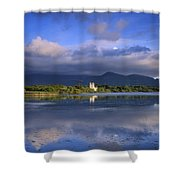 Muckross Lake, Ross Castle, Killarney Shower Curtain