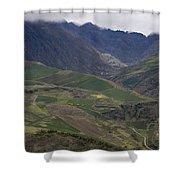Mucuchies, Merida, Venezuela, Andes Shower Curtain