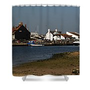 Mudeford Quay Shower Curtain