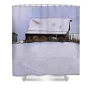 Mueller's Barn Shower Curtain