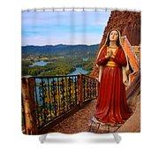 Mujer De La Piedra Shower Curtain