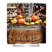 Mulled Wine Shower Curtain