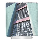 Multiple Stories Shower Curtain