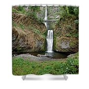 Multnomah Falls - Wide View Shower Curtain