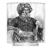 Mummadi Krishnaraja Wadiyar Shower Curtain