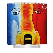 Mundakarama Shower Curtain