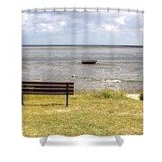 Munkmarsch - Sylt Shower Curtain by Joana Kruse