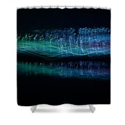 Munro River Reflections 1 Shower Curtain