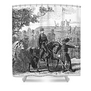 Munsons Hill, 1861 Shower Curtain