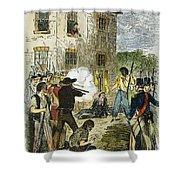 Murder Of Joseph Smith Shower Curtain
